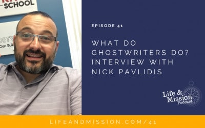 What do Ghostwriters do? Interview with Nick Pavlidis