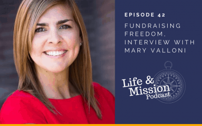 Fundraising Freedom, Interview with Mary Valloni