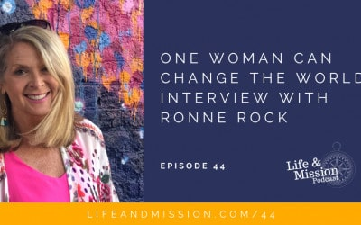 One Woman Can Change the World – Interview with Ronne Rock
