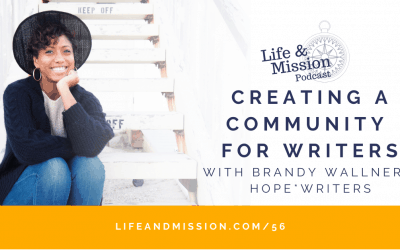 Creating a Community for Writers, with Brandy Wallner of Hope*Writers