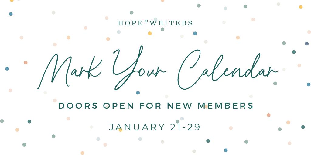 Doors open for new members January 21-29