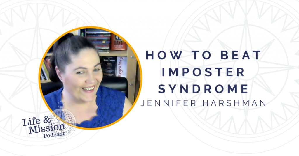 Jennifer Harshman's tips to beat imposter syndrome